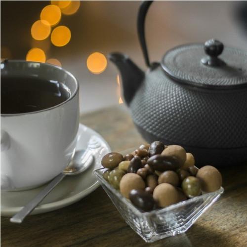 Grains de café chocolat noir du Roy René