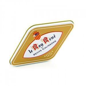 Boîte losange 8 petits calissons du Roy René