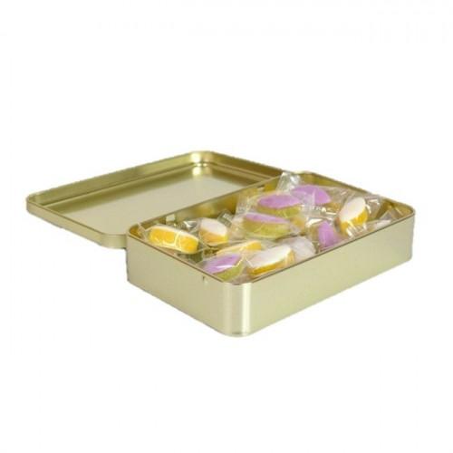 Boîte de petits calissons saveurs amande et lavande du Roy René