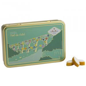 Boîte de petits calissons amandes du Roy René, Collection Pont du Gard