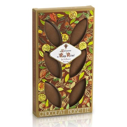 Étui de 6 Calissons d'Exception chocolat noisettes du Roy René