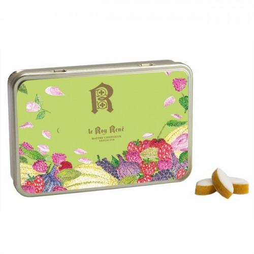 Boîte de petits calissons amandes du Roy René - Collection de saison