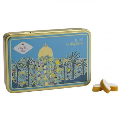 Boîte de petits calissons amandes du Roy René, collection Nice