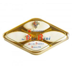 Boîte losange 4 Calissons d'Aix du Roy René