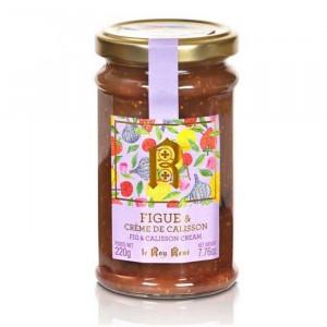 Confiture figue et crème de calisson du Roy René