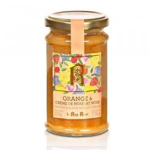 Confiture orange et crème de nougat noir du Roy René