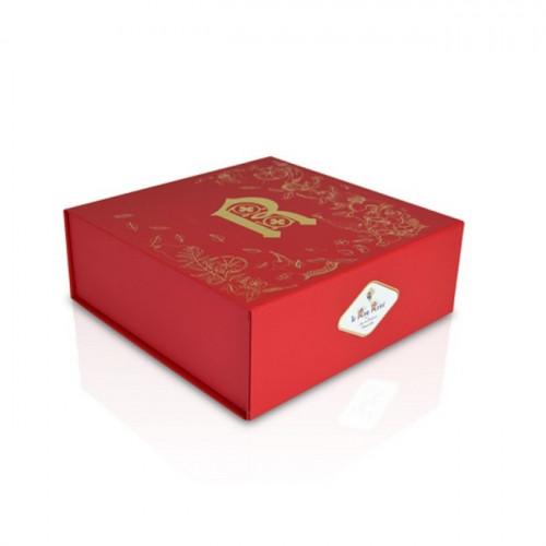 Coffret cadeau rouge le Roy René