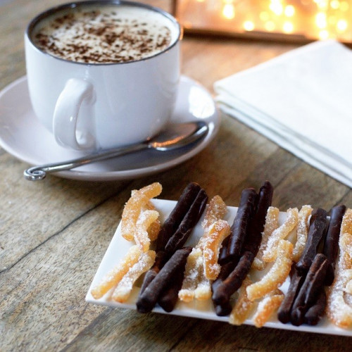 Ballotin d'orangette chocolat et sucre Le Roy René