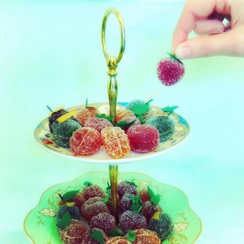 Pâte de fruits feuille du Roy René