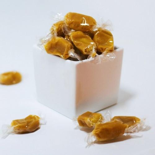 Caramel fourré au calisson du Roy René