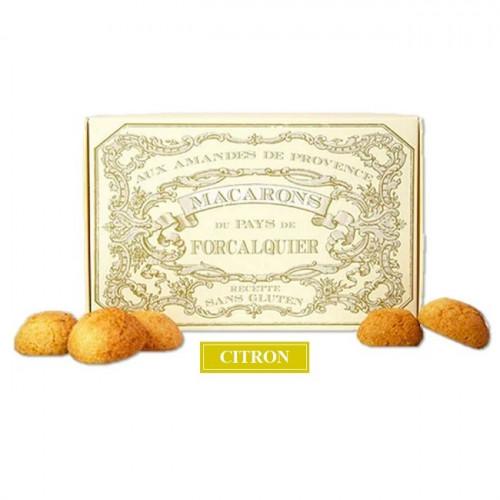 Boîte macarons citron de Provence du Roy René