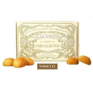 Boîte macarons de Provence aux noisettes du Roy René