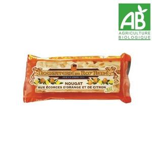 Nougat agrumes snacking BIO du Roy René